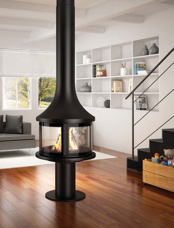 Vente pose cheminée métal Annecy Haute Savoie # Poele A Bois Haute Performance